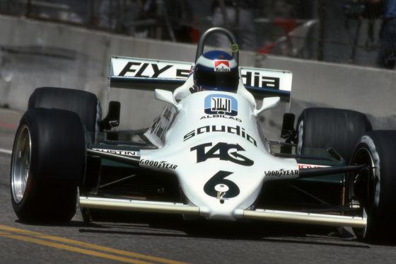 Keke Rosberg 1982 im Williams