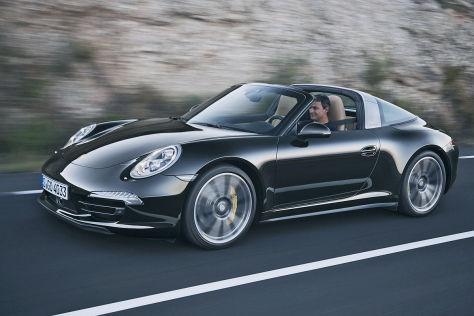 Fahrbericht Porsche 911 Targa