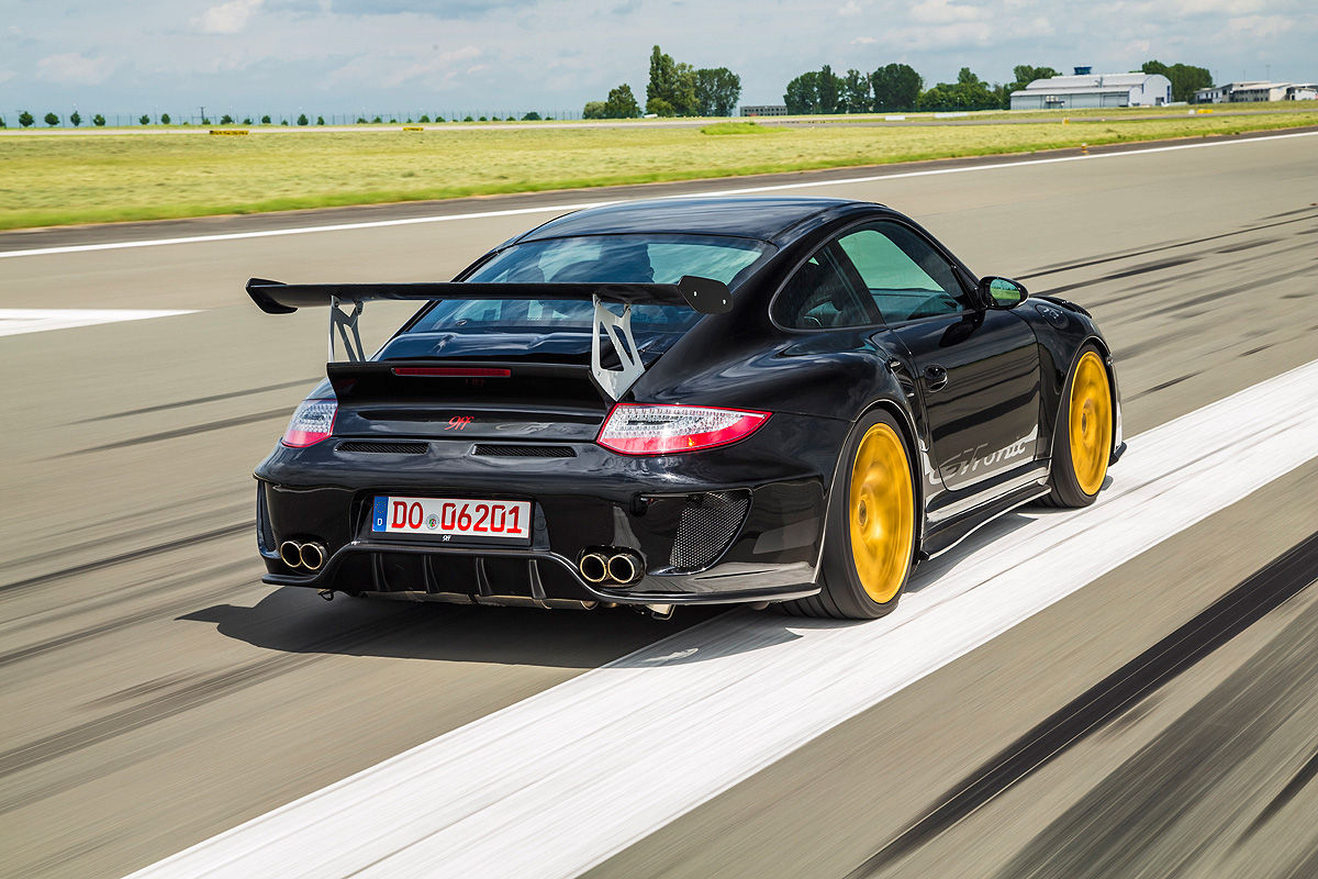 9ff takes Porsche 911 GT2 to 670 hp and beyond - Autoblog