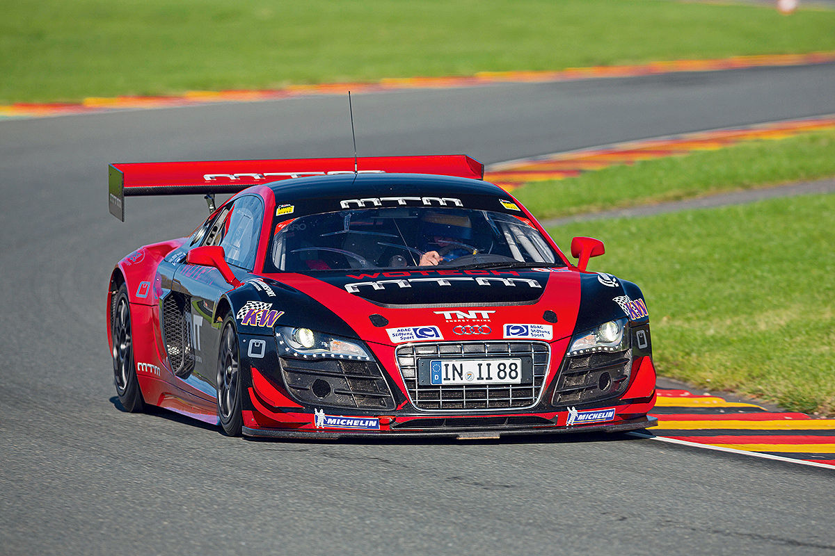 MTM R8 LMS rot Frontansicht