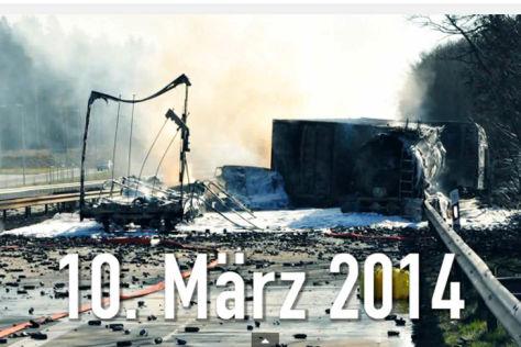 Schwerer Unfall auf der A7 im Heidekreis am 10. März 2014