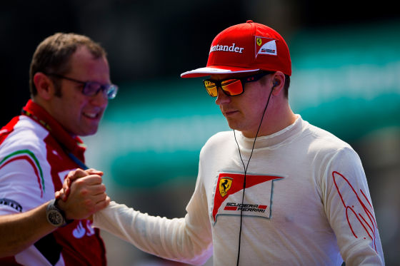 Domenicali & Räikkönen