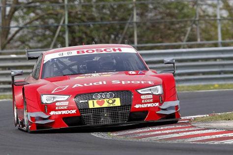 Audi-Fahrer Miguel Molina sorgte am Montag für die erste Bestzeit beim Test in Ungarn