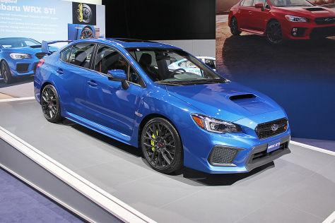Subaru WRX STI: Detroit Auto Show 2014