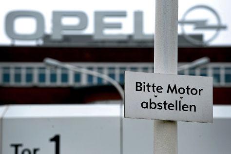 Opel-Werk Bochum vor der Schließung