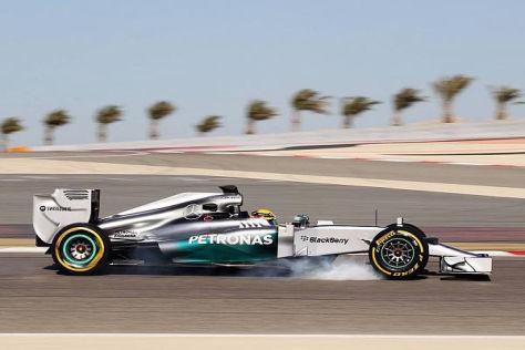 Lewis Hamilton war in der ersten Trainingseinheit der Schnellste