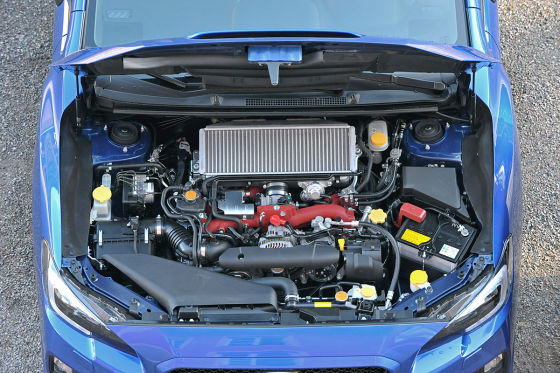 So fährt der Subaru WRX STI