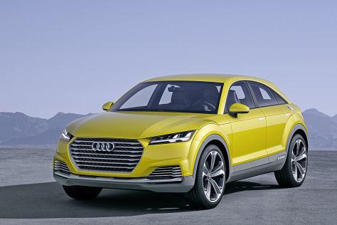 Audi Allroad Shooting Brake Concept Detroit 2014