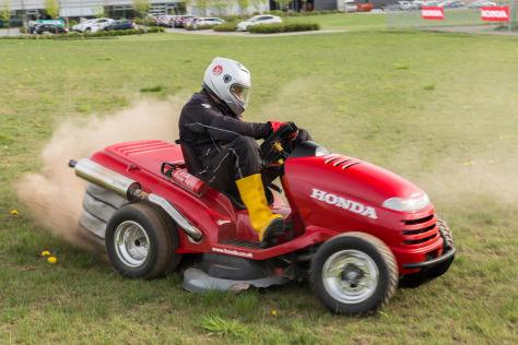 Honda Mean Mower Aufsitzrasenm 228 Her Rasentraktor