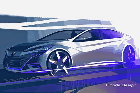 Honda Concept Car: Peking Auto Show 2014