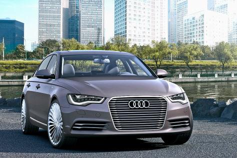 Audi A6 e-tron: Der Luxus-Hybrid für China