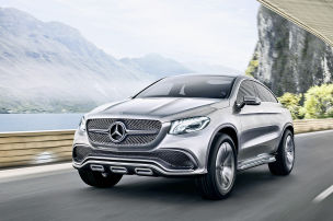 Mercedes Concept Coup� SUV: Peking 2014