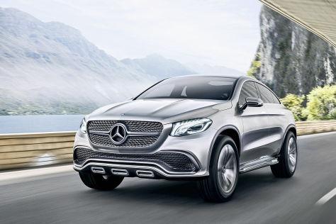 Mercedes Concept Coupé SUV: Peking Auto Show 2014