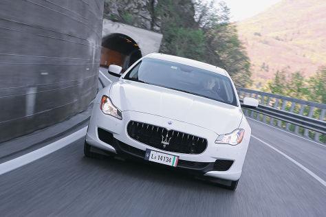 Maserati Quattroporte Diesel: Fahrbericht