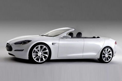 Tesla Model S Cabriolet von Newport Convertible