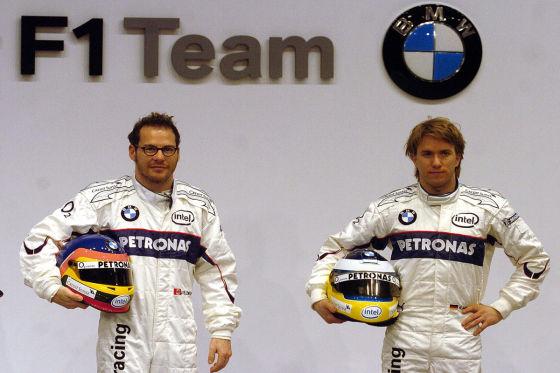 Jacques Villeneuve & Nick Heidfeld