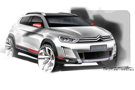 Citroën SUV Concept: Peking Auto Show 2014