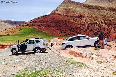 Dacia Duster rettet Porsche Macan