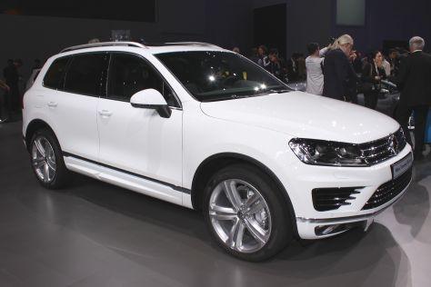 VW Touareg: Peking Auto Show 2014