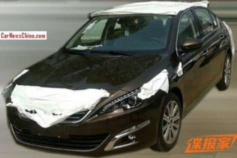 Peugeot 408 Sedan: Peking Auto Show 2014
