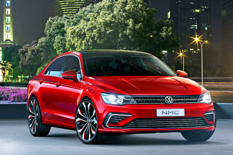 VW New Midsize Coupé Studie: Peking 2014
