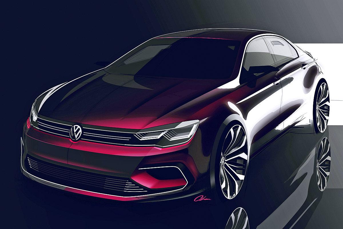 Volkswagen Midsize Coupe для Пекинского автошоу 2014 года