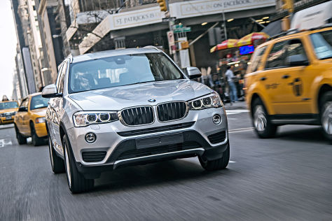 BMW X3 Facelift (2014)