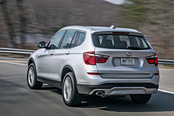 BMW X3 Facelift (2014)