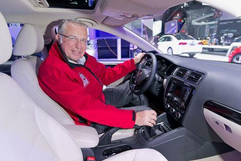 VW Jetta New York Auto Show 2014: Sitzprobe