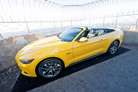 Ford Mustang 50 Year Limited Edition: New York 2014