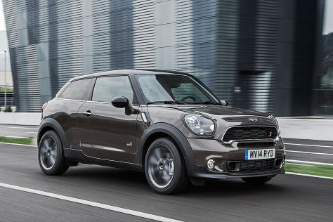 Mini Paceman Facelift (2014)