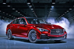 Infiniti Q50 Eau Rouge: Peking Auto Show 2014