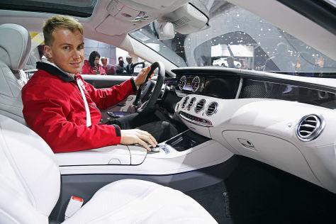 Mercedes S 63 AMG Coupé: Sitzprobe