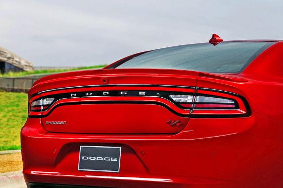 Heck des Dodge Charger 2015