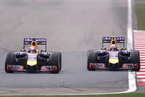 Sebastian Vettel und Daniel Ricciardo: Ein überraschend enges Teamduell