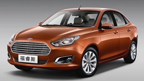 Ford Escort: Peking Auto Show 2014