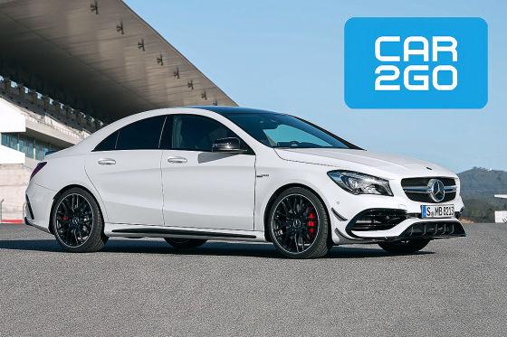 Internetseite von Car2Go