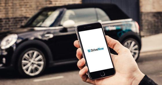 Internetseite von DriveNow