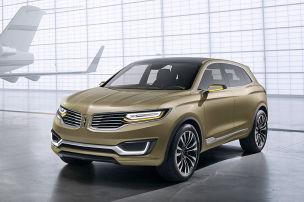 Lincoln MKX Concept: Peking Auto Show 2014