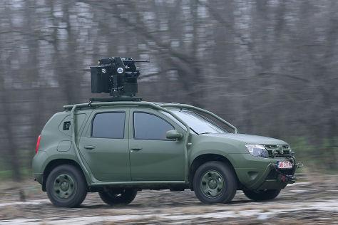 Dacia Duster Army: Vorstellung