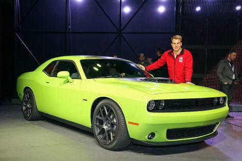 Dodge Challenger FL: Sitzprobe
