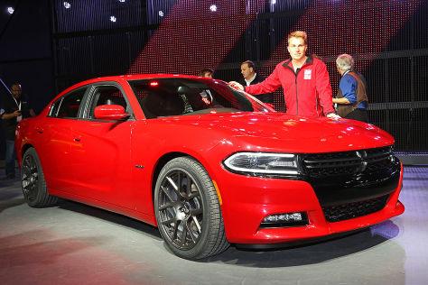 Dodge Charger NY Auto Show: Sitzprobe