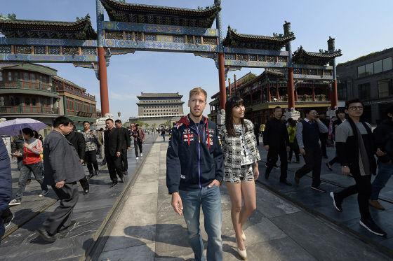 Vettel in China