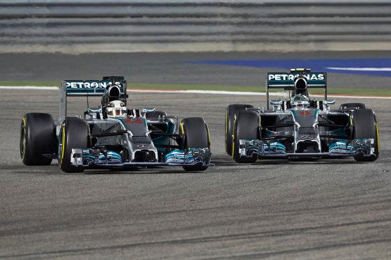 Hamilton & Rosberg