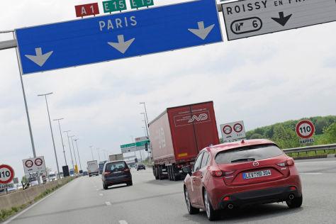 Mazda Kap-zum-Kap Etappe 4: Von Maaseik nach Bayonne