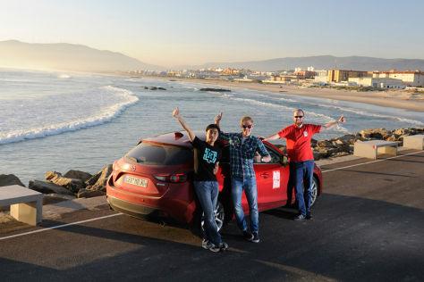 Mazda Kap-zum-Kap Etappe 5: Von Bayonne zum Kap Tarifa