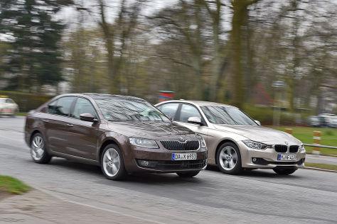 BMW 3er Skoda Octavia