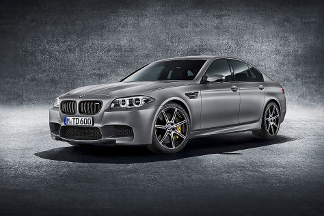 BMW M5 Facelift 2014 blau