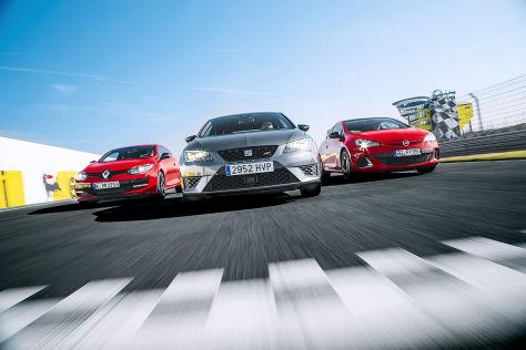 Opel Astra/Renault Mégane/Seat Leon: Vergleich