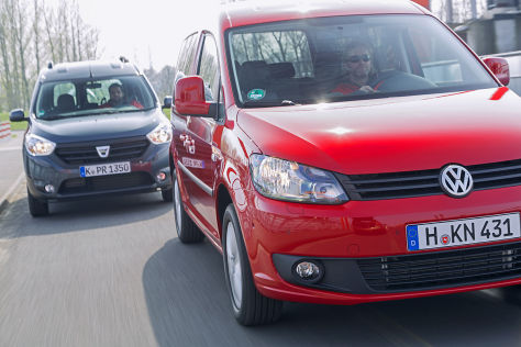 Dacia Dokker VW Caddy